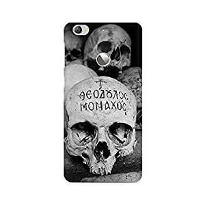 Mobicture Vintage Skull Premium Printed Case For LETV 1S/LeEco 1S