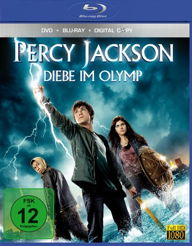 Percy Jackson - Diebe im Olymp (+ DVD + Digital Copy) [Blu-ray]