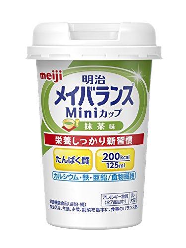 メイバランスミニカップ抹茶 125ml×12