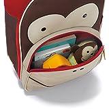 Skip-Hop-Zoo-Little-Kid-Rolling-Luggage-Bag-Marshall-Monkey