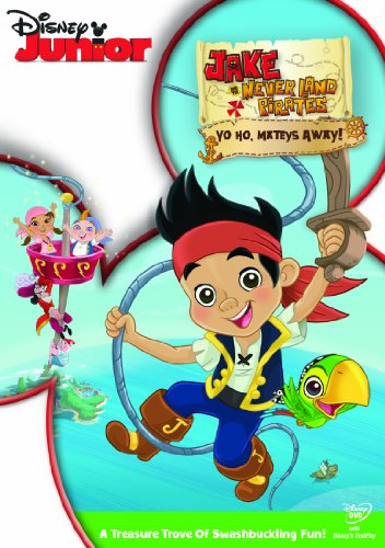Jake And The Never Land Pirates: Yo Ho, Mateys Away! [DVD]