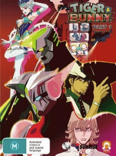 Tiger and Bunny - Part 1 Episodes 1 to 12 (2 Discs) DVD