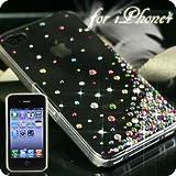 iPhone4用 豪華スワロフスキーiPhone4ケース(Aタイプ・スプリンクル・ミックス)