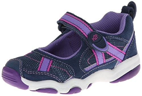 Stride Rite M2P Robin Cg Mary Jane (Toddler/Little Kid),Navy/Purple,10 M Us Toddler