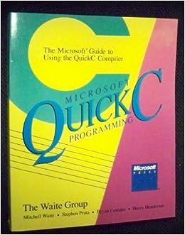 Microsoft Quick C Скачать - фото 9
