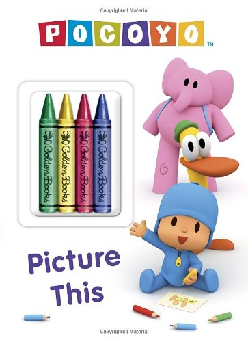 Pocoyo: Picture This [With 4 Crayons]