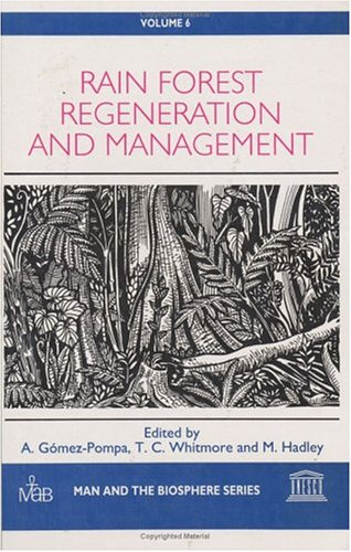 Rain Forest Regeneration and Management (Man and the Biosphere Series 6) (Advances in Gynecology and Obstetrics Series) PDF