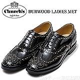 Church's【チャーチ】スタッズウイングチップシューズ BURWOOD MET 8746/01 A73754 BLACK(ブラック) (351/2)
