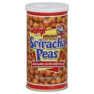 Hapi Pea Sriracha 9.9 OZ (Pack of 12) by Hapi