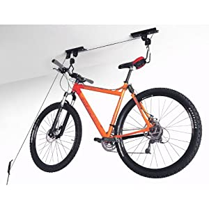 Click to buy Garage Bicycle Storage: Garage Ceiling Lift Hoist Storage System for Bicycle from Amazon!
