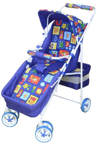 Mothertouch Pram Dx (Blue)