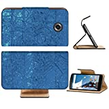 Liili Premium Motorola Google Nexus 6 Flip Pu Leather Wallet Case abstract digital background Photo 19493465 Simple Snap Carrying