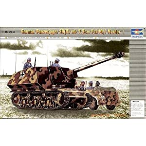 Panzerjaeger 7.5cm Marder 1Pak 40-3 by Trumpeter