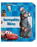 echange, troc Hachette Jeunesse - Incroyables héros : Coffret en 5 volumes : Le monde de Nemo ; Cars ; Ratatouille ; Toy Story ; Wall-e
