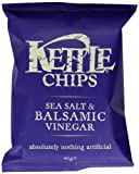 Kettle Chips Balsamic Vinegar and Sea Salt 40 g (Pack of 18)
