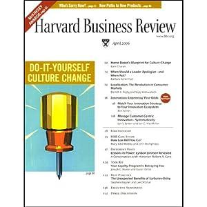 Harvard Business Review, April 2006 Periodical