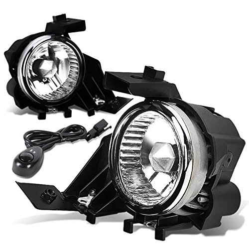 DNA Motoring FL-T053-CH Front Bumper Fog Light (2009 Wrx Fog Lights compare prices)