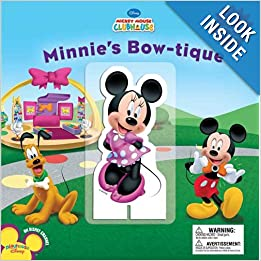 Amazon.com: Minnie's Bowtique (Disney Mickey Mouse Clubhouse