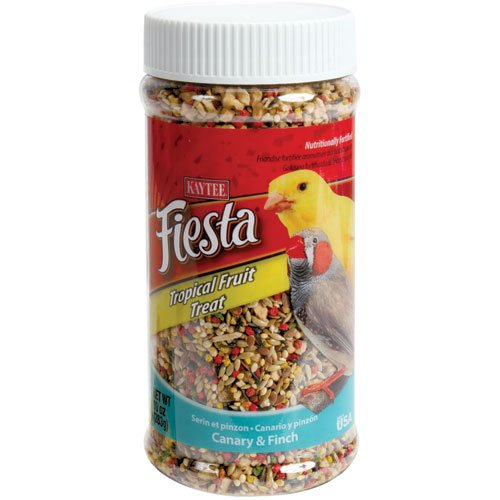 Cheap Tropical Fruit Treat Jar – Canary and Finches – 10 oz. (B002IJSGE8)