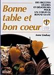 Bonne table et bon coeur: Des recette...