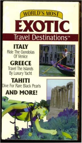 World's Most Exotic Travel Destinations Vol. 1: Italy, Greece, Tahiti And More!