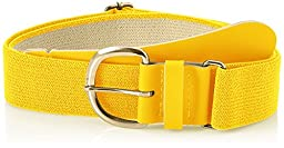 Champro Elastic Baseball Belt with 1.5-Inch Synthetic Tab (Gold, 28-52-Inch)