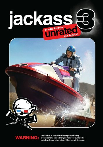 Cover art for  Jackass 3 (Two-Disc Unrated and Theatrical Edition w/ Anaglyph 3D)