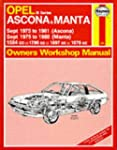 Opel Ascona and Manta 'B' Series 1975...