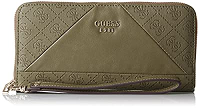 Guess Cammie Slg Large Zip Around, Porte-monnaie femme