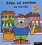 Leon le chaton au marche-autoc.