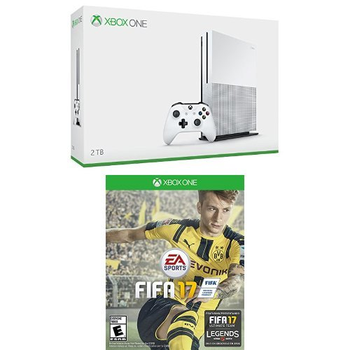 Xbox One S 2TB Console and FIFA 17