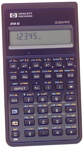 HP HP20S Scientific Calculator