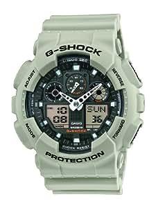 Casio Herren-Armbanduhr XL G-Shock Analog - Digital Quarz Resin GA-100SD-8AER