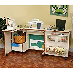 Kangaroo Kabinets Wallaby Sewing Cabinet with 3 position airlift