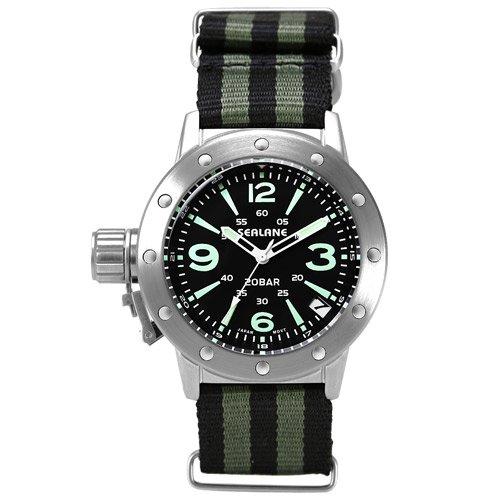 [シーレーン]SEALANE 腕時計 20BAR N夜光 SE42-NABK メンズ