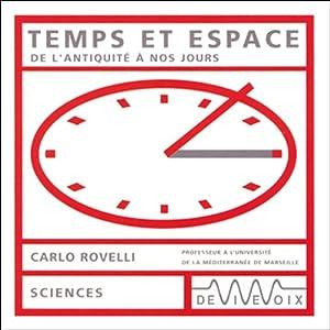 Temps et espace - De l'antiquité à nos jours Discours