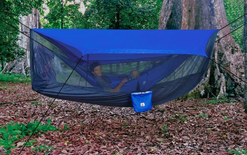 Hammock Bliss Sky Tent - A Revolutionary Tent For Your Hammock Off The Ground. Stay Dry From The Rain, Safe From The Bugs With Ample Space For You And Your Gear!
