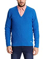Pepe Jeans London Jersey Bobtail (Azul Royal)
