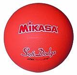 ミカサ ソフトドッジボール2号 軽量190g オレンジ 日本ドッジボール協会推薦球 小学校用 STD-2R O