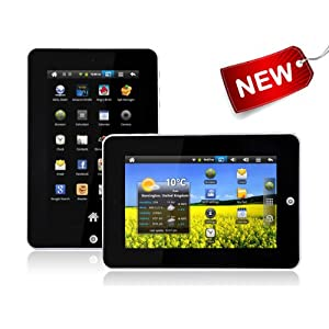 "NATPC M010S 7"" 2GB Google Android Tablet PC - 2.2 Android Tablet - Flash 10.1 - WiFi , Touchscreen, Epad, Apad, Genuine UK Android Market, Youtube, Facebook and Amazon Kindle App"