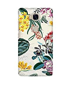 Pick Pattern Back Cover for Huawei Honor 5X