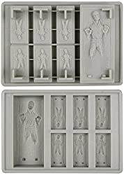 Star Wars: Han Solo in Carbonite Silicone Ice Tray / Chocolate Mold