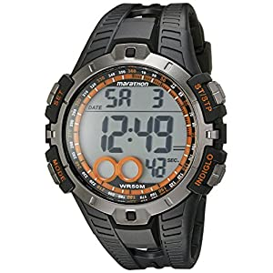 Timex Men's T5K801M6 Marathon Digital Watch with Black Resin Band