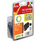 Inkrite NG Ink Cartridges For Dell A940 A960 - 7Y743 Black - IRDB7Y743