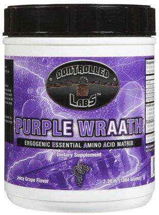Controlled Labs Purple Wraath Amino Acid Powder, Grape, 2.39 lbs