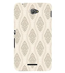 GADGET LOOKS PRINTED BACK COVER FOR Sony Xperia E4 MULTICOLOR