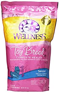 Wellness Complete Health Natural Dry Dog Food, Small Toy Breed Senior Health Recipe, 2-Pound Bag