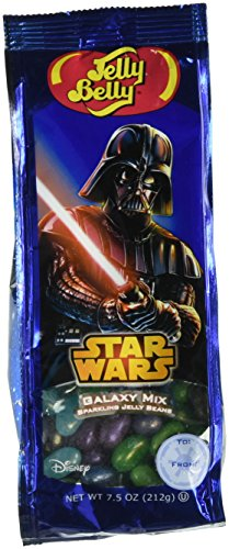Jelly Belly 7.5 oz Star Wars Jelly Bean Bag 76881 (Silver Jelly Beans Candy compare prices)