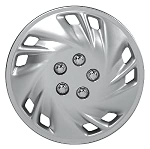 Custom Accessories 82801 Viper 14″ Wheel Cover with Chrome Nut