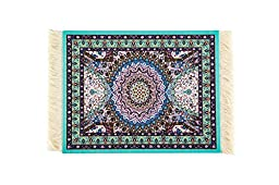 Rug Mouse Pad,Lexiart Oriental Persian Woven Mouse Mat,9.5*7.5*0.5
